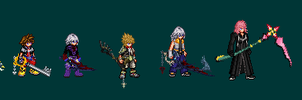 Some Sprites by TheKCroxas