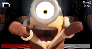 Five Nights at Gru's Lab - Stuart's Jumpscare by AngryBirdsStuff