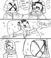 Bin Bros: After the standoff with Yamori by VooDooDollMaster