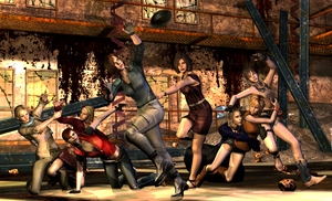 Survival match. by Ygure