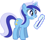 Colgate and her Toothbrush by Vector-Brony