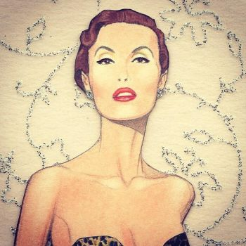 Mary Jane Russell paper doll by pdgregg