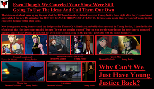 YOUNG JUSTICE : DC SHOWS ITS GRATITUDE 2 by Darksuperboy