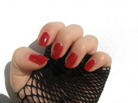 Red nails part 1 by xzibitka