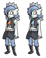 Some Gardevoir Character Thing by McKnackus