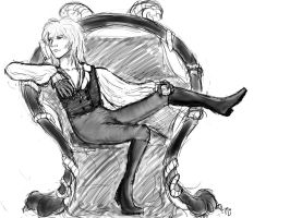 Jareth Daydreaming by naydshiko