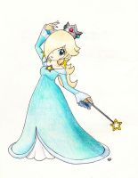 Princess Rosalina in her Mario Party 10 pose!~ by Peach-X-Yoshi