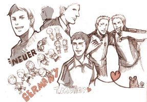 scribble of german team by neoineon