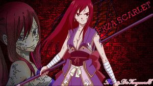Erza Scarlet!! by VanguardElardo