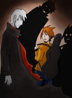 ghost vampire and boy by sofia-1989