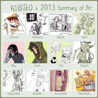 2013 Art Summary by HJeojeo
