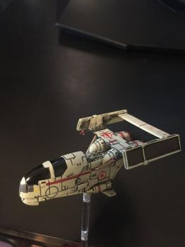 Black Sun Tractor Beam Time X-Wing by Dan-Frederick