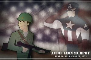 Audie L. Murphy by GregEales