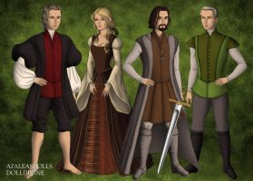 The Tudors Guess Who by dolldivine