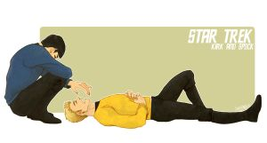 STAR TREK: Kirk And Spock by ttx6666