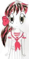 atempt at drawing anime body by Cherryberry-manga
