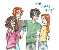 Happy Birthday Harry by brenda--amancio