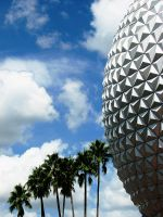 Epcot Ball 3 by solefield