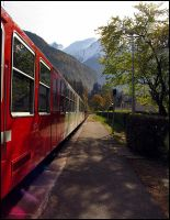 Alpine Train by parallel-pam