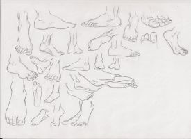 foot studies by ultraseven81