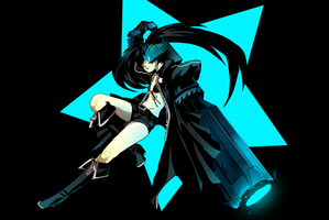 Black rock shooter by Peek-aBoo