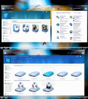 DTU Azure Aero Glass 3  Original  set. by Fiazi