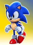 Classic Sonic - Running Animation by Elesis-Knight