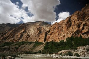 Indus River by orographic