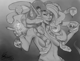 A New Medusa [gift] by Vexstacy