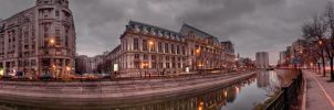 Justice Palace Panoramic by ScorpionEntity