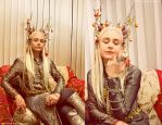 Christmas Thranduil by Revelio