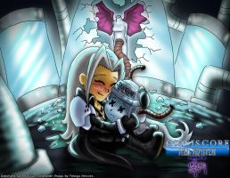 Sephiroth Hugs Mommy by Sefinova