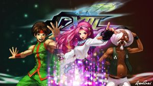 KOF XIII: Psycho Soldiers Team by AioriAndrei