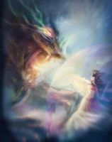 VS the Dragon by East--Wind