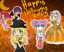 Happy Halloween 2009 lol by BakaNekoChanSan