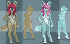 Wolf.Adopts.15.EACH::..+ ONE LEFT by Uriko44