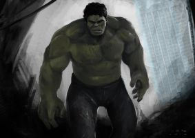 Hulk by FreakyPoppy