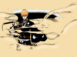 Bleach 459 Ichigo Color by Daichi96