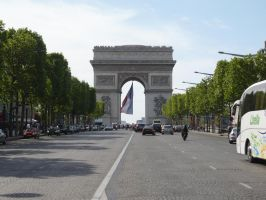 Arc de Triomphe STOCK by Chiron178