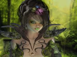 Elva, Queen of the Forest by VisualPoetress