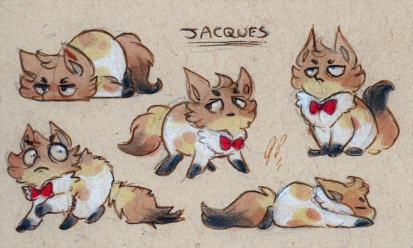Jacques Doodles by Baraayas