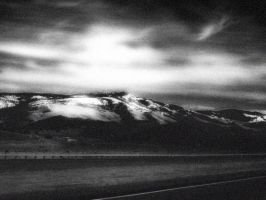 Mountains In Black and White II by XxMissesNumberNEINxX