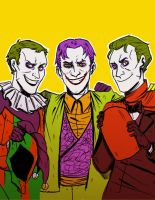 Earth-3 Jokers by lebzpel