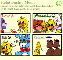 Chica's relationship Meme by E-C98