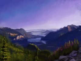 Landscape study number 2 by 8kx