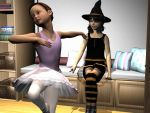 Scene from My Sister is a Witch by areg5