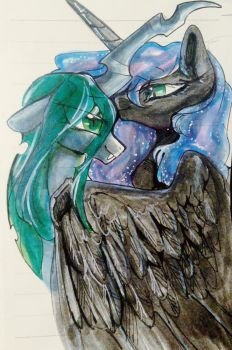 Chrysmoon by GoldenRainyNight