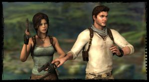 Lara and Nathan: Wait, I See Something! by Irishhips