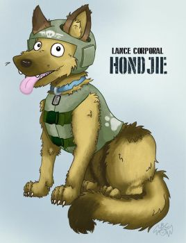 Lance Corporal Hondjie by Buttery-Commissar
