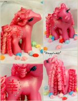 OOAK ~Happiness~ an MLP Custom by wylf